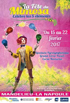 Fête du Mimosa Mandelieu 15/02-22/02
