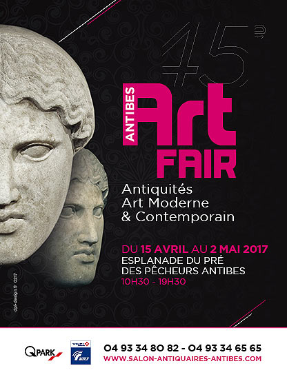 Art Fair Antibes 15 Avril au 2 Mai 2017